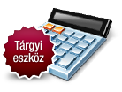Tárgyieszközértékcsökkenés-kalkulátor 2014